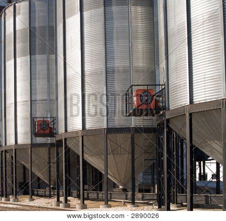 Close-Up Grain Elevator