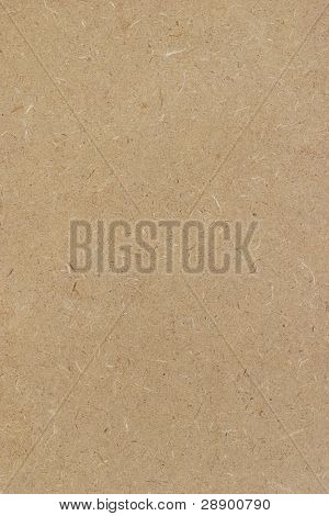 Brown paper fiber board background
