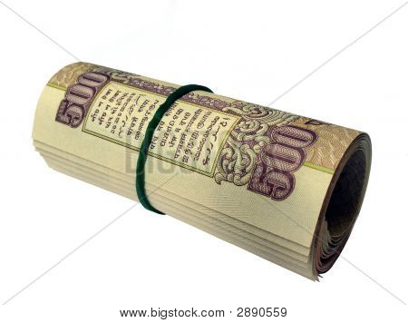 Indian Currency-Inr 500