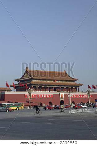 Forbidden City In Peking