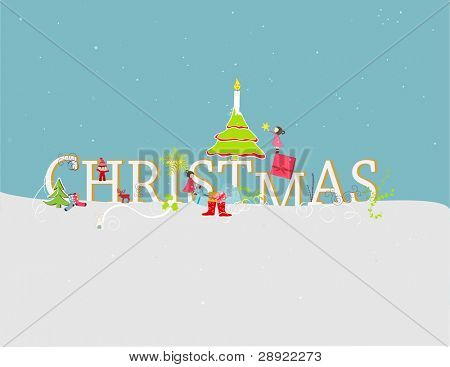 cute christmas card