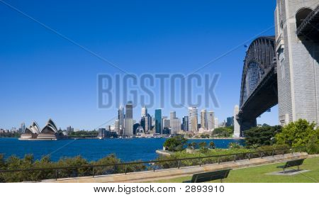 Sydney City Opera Bridge