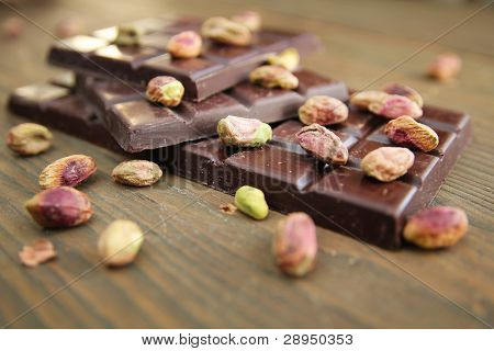 Chocolate And Pistachios