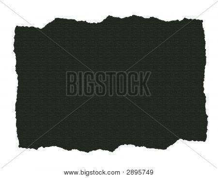 Dark Textured Paper Ripped