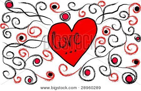 Heart With Krausens