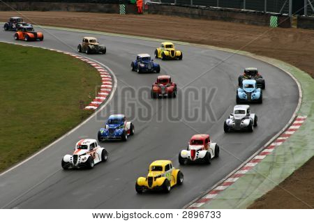 Mini Race Cars On Track That Look Like Toy Cars