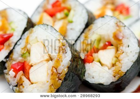 Sushi Rolls, Macro