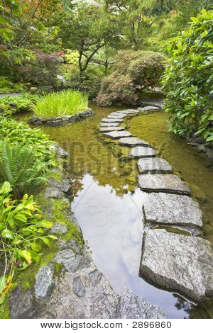Stone Footpath.