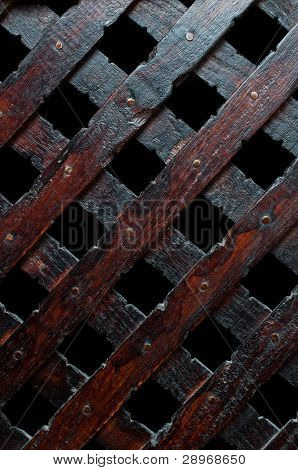 Wooden Plank Cross Bacground