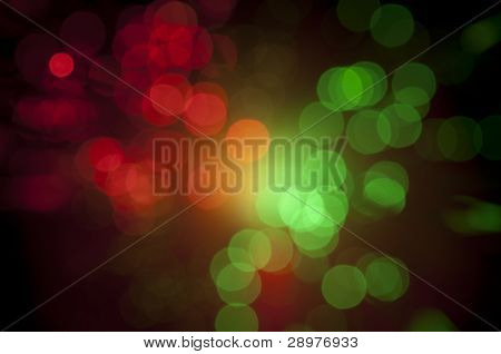 Abstract Background Blurry Lights