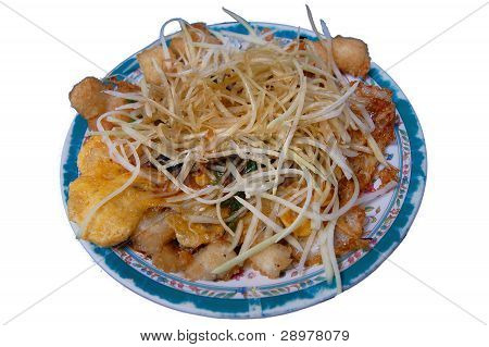 Vietnamese Fried Rice Cakes (Bot Chien)
