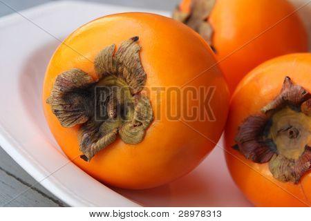 Persimmon Fruit Or Kaki