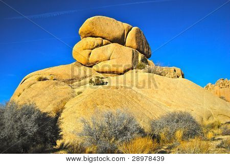 giant boulders