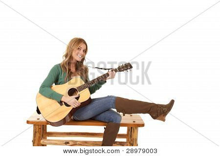 Leg Up Guitar