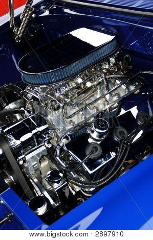 Antique Car Engine