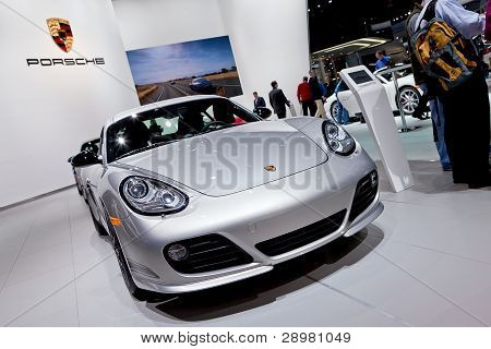 Porsche 2012 Naias Detroit