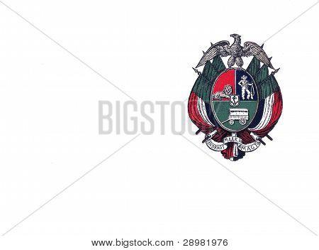 South Africa Boer Republic Emblem On Government Postcard