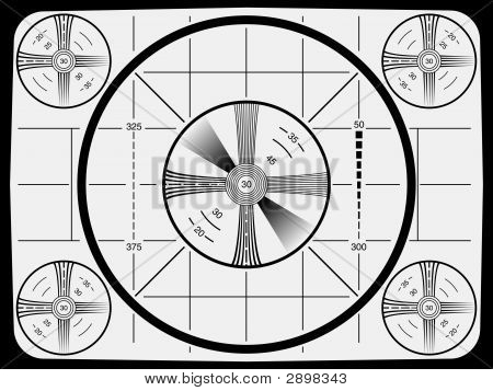 Television Test Pattern