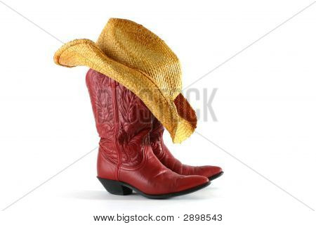 Boots And Hat 002