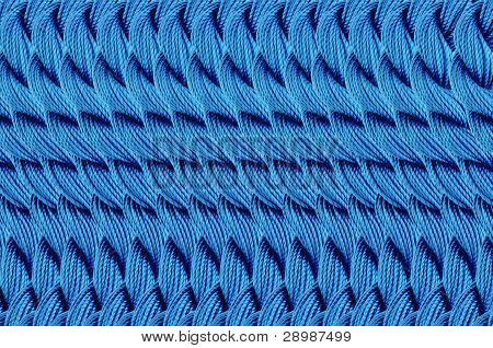 Bright Blue Thread Background