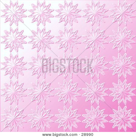 Star Pattern - Light Pink