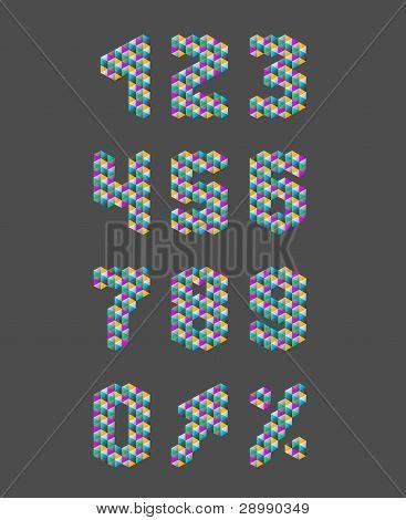 Dreieck-Häkelanleitung-Zahlen-set
