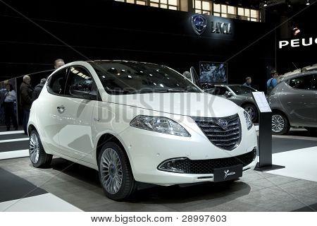 Brussels, Auto Motor Expo Lancia Ypsilon