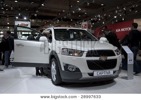Brussels, Auto Motor Expo Chevrolet Captiva