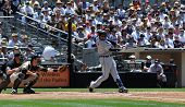 June 22nd, 2008 - Detroit Tiger's Player Carlos Guillen taken at Petco Park during a game with the S