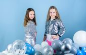 Gorgeous And Beautiful. Small Fashion Models. Fashionable Children In Fashion Clothing. Little Girls poster