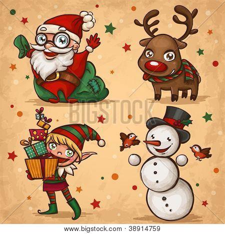 Personagens de Natal