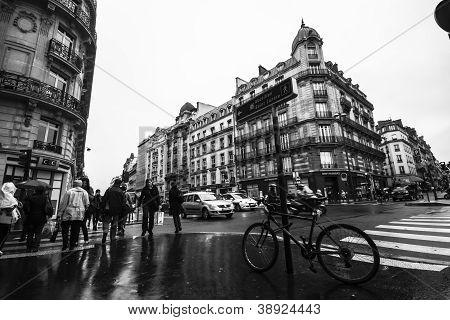 The Boulevard Haussmann