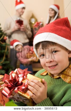 Child With Gift