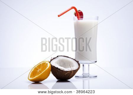 Exotic alcohol drink