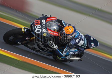 CHESTE - NOVEMBER 10: esteve Rabat during GP of the Comunitat Valenciana, on November 10, 2012, in Ricardo Tormo Circuit of Cheste, Valencia, Spain