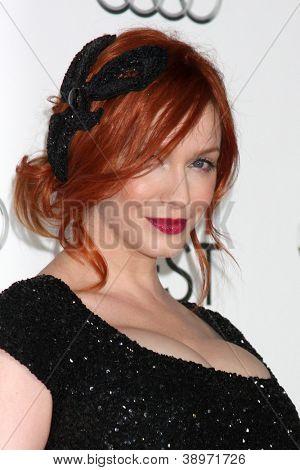 LOS ANGELES - NOV 7:  Christina Hendricks arrives at the