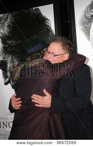 LOS ANGELES - NOV 8:  James Spader, Janusz Kaminski arrives at the