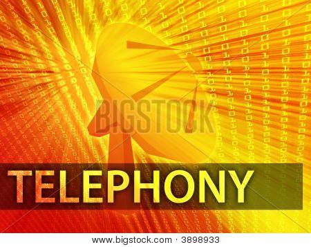 Telephony Illustration