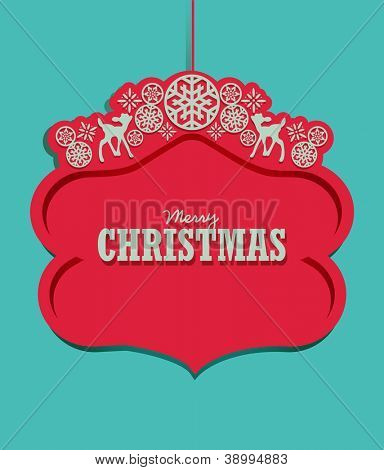 Christmas Decoration Tag