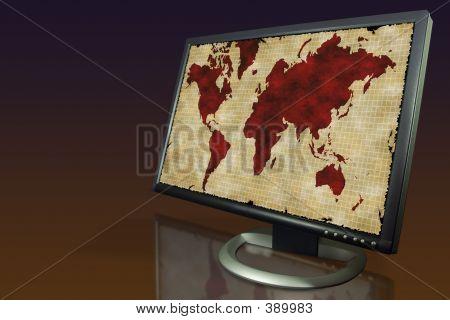 Mapa de monitor