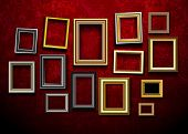 pic of wall painting  - Picture frame vector - JPG