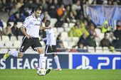 VALENCIA - NOVEMBER 7: during UEFA Rami Champions League match between Valencia CF and FC Bate Boris