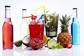 pic of sidecar  - Fresh drink with fruits - JPG