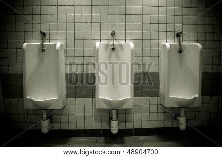 Row Of Urinals