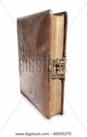 Antique Leather Bound Book