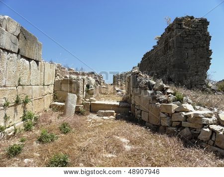 western gate of the ancient Rhodiapolis.