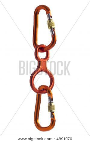 Carabiners Chained