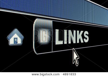 Internet Links Concept