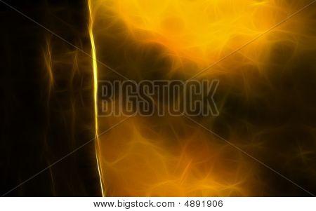 Orange Fractal Spce