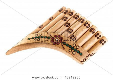 Ornated Pan Flute